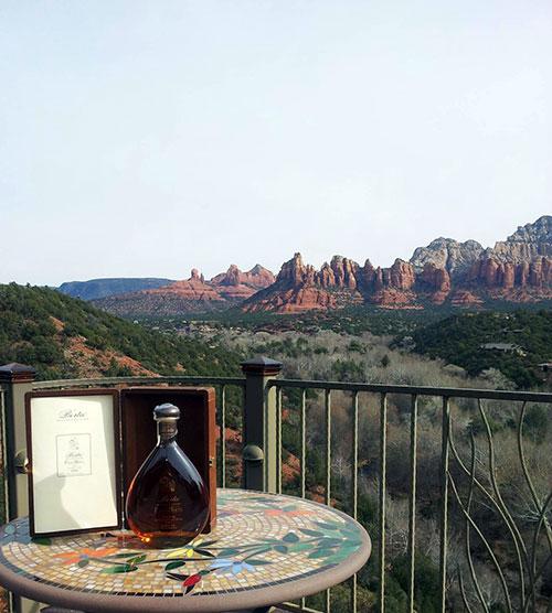 La grappa Berta a Sedona, Arizona.